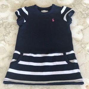 Ralph Lauren Knit Striped Mod Dress